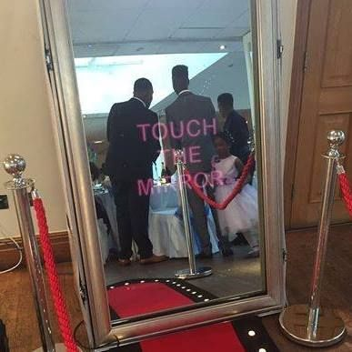 Ayrshire magic mirror photo booth Photo Booth
