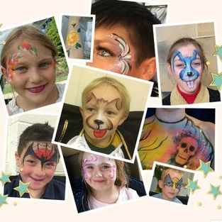Paula Bargh Facepainter Face Painter