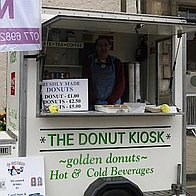 Mr Donut Man Food Van
