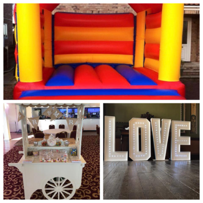 HBN Event Hire Bouncy Castle