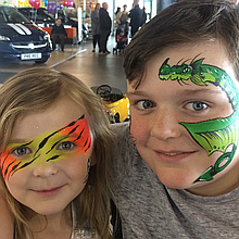 Face and Body Art Scotland Face Painter