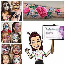 Hayley's FANTASY Heads Face Painter