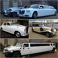 A.T Beauford Wedding Cars Wedding car