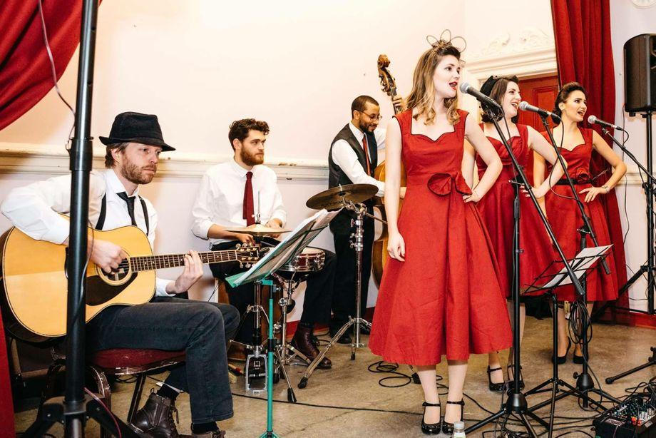 The Lollipops - Live music band Ensemble Tribute Band Singer  - London - Greater London photo