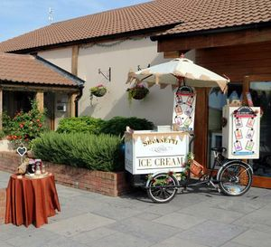 Sevanetti Ice Cream Bikes - Catering , Clevedon,  Ice Cream Cart, Clevedon