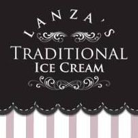Lanza's Traditional Ice Cream Ice Cream Cart