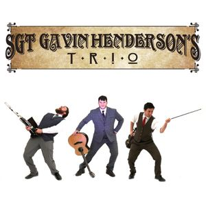 Sgt Gavin Henderson's Trio Irish band