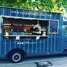 Carpe Diem Pizzas Pizza Van