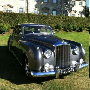 Vintage Bentley S1 Wedding Car Transport