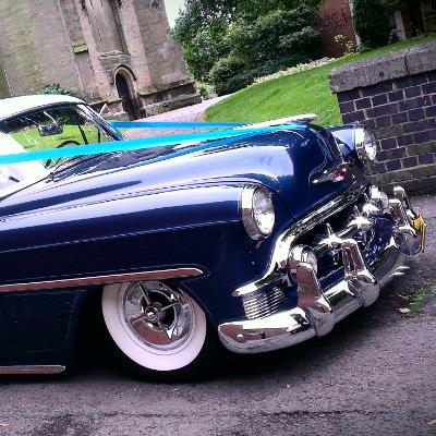 Classic American Wedding Cars Wedding car