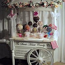 Sweetheart Candy Company Sweets and Candies Cart