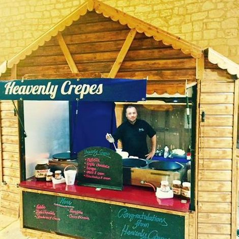 Heavenly Crepes - Catering , London,  Crepes Van, London Cupcake Maker, London Mobile Caterer, London Street Food Catering, London