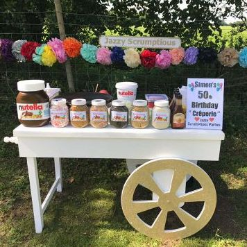 Jazzy Scrumptious Parties - Catering , Greater London,  Children's Caterer, Greater London Crepes Van, Greater London Mobile Caterer, Greater London Wedding Catering, Greater London Popcorn Cart, Greater London Street Food Catering, Greater London Halal Catering, Greater London