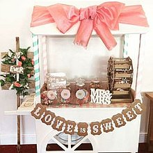 Sarah's Sweet Treats Sweets and Candies Cart