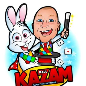 Paul Kazam Family Entertainer Table Magician