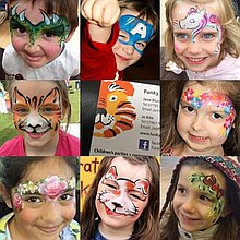 Funky Faces Face Painting Face Painter