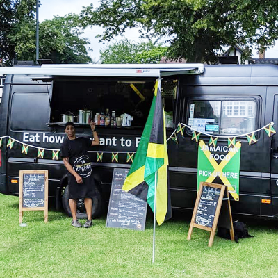 The Healthy Jamaican Kitchen Food Van