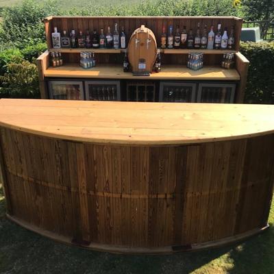 Hooch & Moonshine Event Bars Mobile Bar