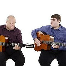 Hot Club Two Jazz Guitar Duo Swing Band