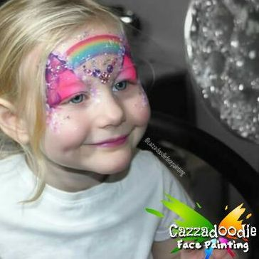 Cazzadoodle Face Painting - Children Entertainment , Wirral,  Face Painter, Wirral