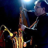 JEZ HUGGETT - Sax for all Events & Occasions Blues Band