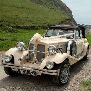 Roaring 30s Automobiles - Transport , Looe,  Vintage Wedding Car, Looe