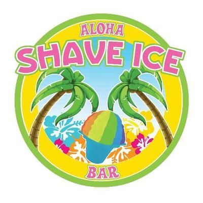 Aloha Shave Ice Bar - Catering , Anstruther,  Ice Cream Cart, Anstruther Mobile Caterer, Anstruther