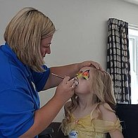Shining Star Face Painting Children Entertainment