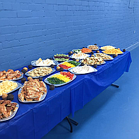 The Balloon And Gift Guru Buffet Catering