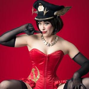 "Velma Von Bon Bon by ""Agent Burlieque"" Burlesque Dancer"