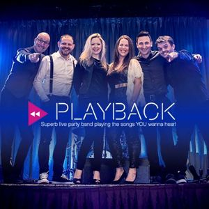 Playback - Superb Live Party Band - Live music band , Norwich,  Function & Wedding Band, Norwich Pop Party Band, Norwich