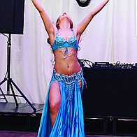 Marija Zinkevica Belly Dance Dance Act