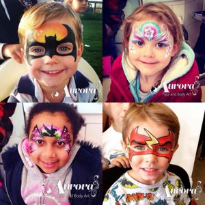 Aurora Face and Body Art Children Entertainment