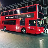 Champagne Tours London Party Bus