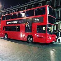 Champagne Tours London Party Bus