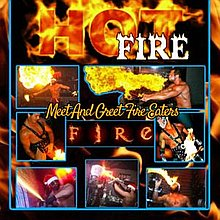 Hot Fire-STRIPPERMANIA Fire Eater