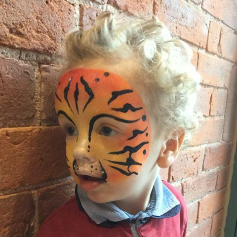 Tigercheeks Face Painting & Glitter Tattoos - Children Entertainment , Derbyshire,  Face Painter, Derbyshire