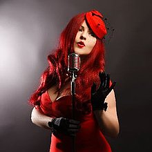 Miss Ivy La Rouge Jazz Singer