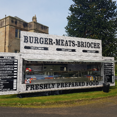 Unique Foods and Leisure Burger Van
