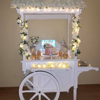 The Sugar Team UK Popcorn Cart