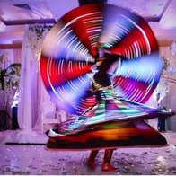 Egyptian Tanoura Dancer Manchester Dance Act