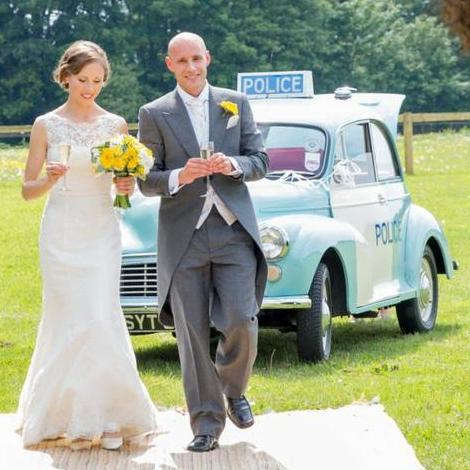 Police Panda Car & Vintage Everything Vintage & Classic Wedding Car