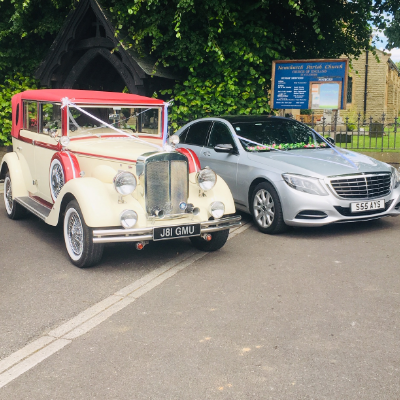 At Your Service Vintage & Classic Wedding Car