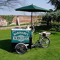 Barnaby's Ice Cream Ice Cream Cart