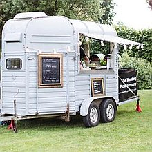 The Wedding Pizza Company Pizza Van