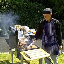 Mr T BBQ Man Afternoon Tea Catering