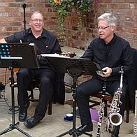 Two Blue Jazz Wedding Music Band