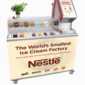 Magic Organic /Distinctive Food Ltd Ice Cream Cart