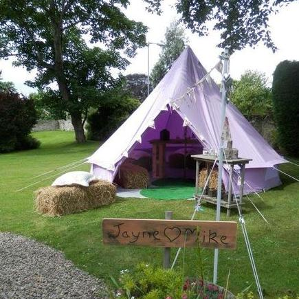 Limelife Bell Tent Party Hire Marquee & Tent