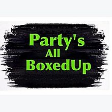 Party's All BoxedUp Projector and Screen